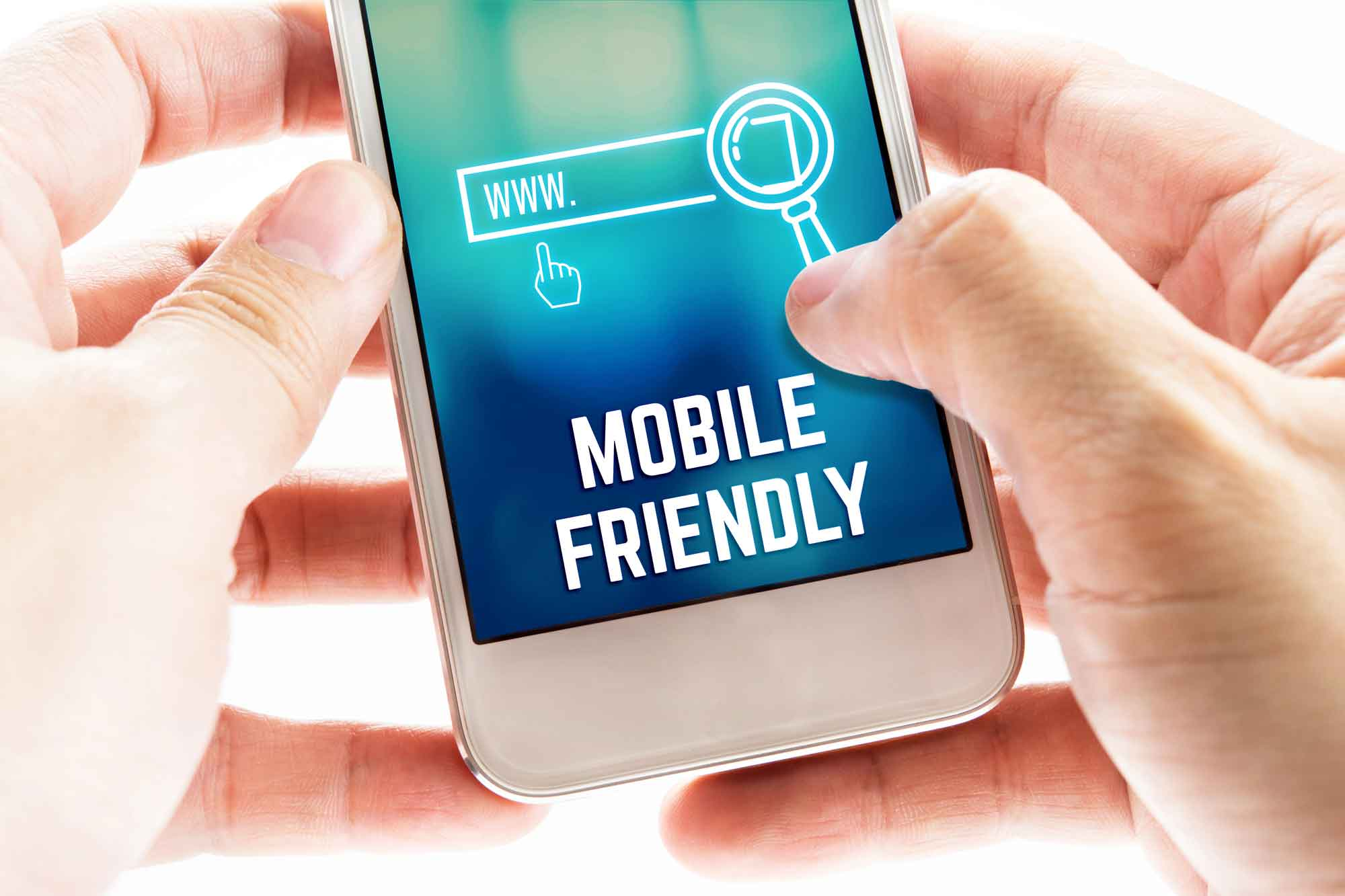 Mobile friendly test on google
